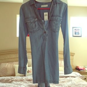 Brand new Abercrombie and Fitch Denim dress